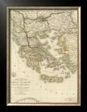 Grece Ancienne et de la Mer Egee, c.1827 Framed Giclee Print by Adrien Hubert Brue