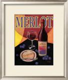 Merlot Prints by T. C. Chiu