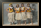 Hula Dancers Poster