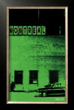 Montreal Vice City in Green Prints by Pascal Normand