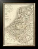Pays-Bas, c.1821 Framed Giclee Print by Adrien Hubert Brue