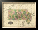 Pennsylvania and New Jersey, c.1823 Framed Giclee Print by Henry S. Tanner
