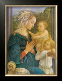 Virgin in Adoration Posters by Filippino Lippi