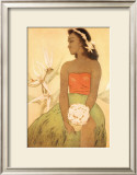 Hula Dancer Posters by John Kelly