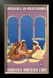 Hamburg Amerika Linie, Croisieres en Mediterranee Print by Ottomar Anton