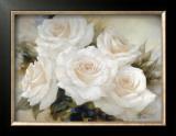 White Roses Prints by Igor Levashov