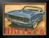 Vintage Muscle II Posters by Ethan Harper