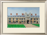 Trinity College Cambridge Poster by Peter French