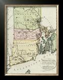 Rhode Island, c.1797 Framed Giclee Print by Daniel Friedrich Sotzmann