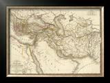 L'Empire d'Alexandre, c.1822 Framed Giclee Print by Adrien Hubert Brue