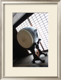 Taiko Drum That Was Inside of the Temple Print by Ryuji Adachi
