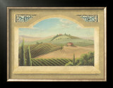 Vineyard Window III Poster by Joelle McIntyre