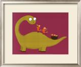 Joli Dino Prints by Nathalie Choux