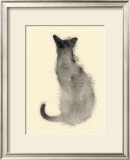 Cat from the back Print by Aurore De La Morinrie