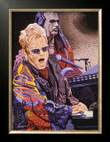 Elton John Print by Ingrid Black
