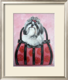 Shih-tzu Purse Print by Carol Dillon