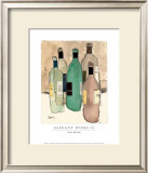 Elegant Wines II Prints by Sam Dixon