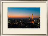 Tokyo Tower: Evening I Art by Takashi Kirita