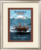 Vedette Rapide, Lacs Transalpins Posters by Bruno Pozzo