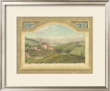 Vineyard Window II Posters by Joelle McIntyre