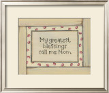 My Greatest Blessings Print by Karen Tribett