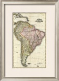 Composite: South America, West Indies, c.1823 Framed Giclee Print by Henry S. Tanner