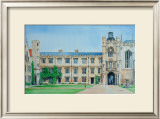 Kings Gate, Trinity College Print by Peter French