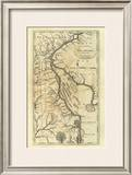 Delaware, c.1795 Framed Giclee Print by Mathew Carey