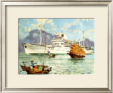 Mess Maritimes - Cambodge Print by Albert Brenet