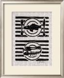 Fischgericht II Prints by Sabine Glandorf