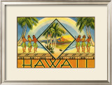 Hawaii Brochure, 1943 Art