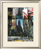 New York City Print by Cédric Bouteiller