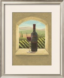 Vineyard Vista II Print by Joelle McIntyre