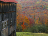 Barn Near Lush Hill, North Landgrove, Green Mountains, Vermont, USA Photographic Print by Scott T. Smith