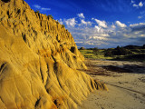 Badlands of Theodore Roosevelt National Park, North Dakota, USA Photographic Print by Chuck Haney