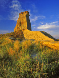 Eroded Monument in the Little Missouri National Grasslands, North Dakota, USA Photographic Print by Chuck Haney