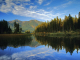 Holland Lake in the Swan Valley of Montana, USA Photographic Print by Chuck Haney