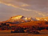 Ear Mountain Along the Rocky Mountain Front, Montana, USA Photographic Print by Chuck Haney