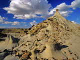 Badlands at Dinosaur Provincial Park in Alberta, Canada Photographic Print by Chuck Haney