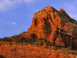 Red Rocks at Sterling Canyon in Sedona, Arizona, USA Stampa fotografica di Chuck Haney