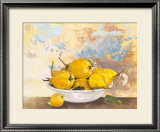 Plate with Pears Prints by Caroline Caron