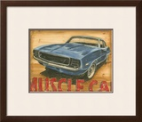 Vintage Muscle II Prints by Ethan Harper
