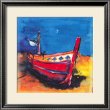 A Boat from Algarve II Prints by Hans Oosterban
