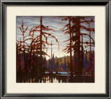 Beaver Swamp Prints by Lawren S. Harris