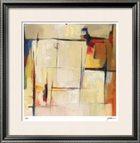 Quiet Shades I Limited Edition Framed Print by  Judeen