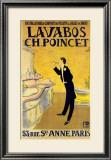 Lavabos Ch. Poincet Print