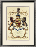 Crackled Lord Vernon Print by Jacobs Peerage