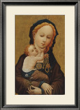 The Madonna with the Tare Prints by  Master of Cologne
