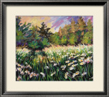 Spring in Neuville Prints by Anne Marrec