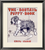 The Bobtail Puppy Framed Giclee Print by Cecil Aldin